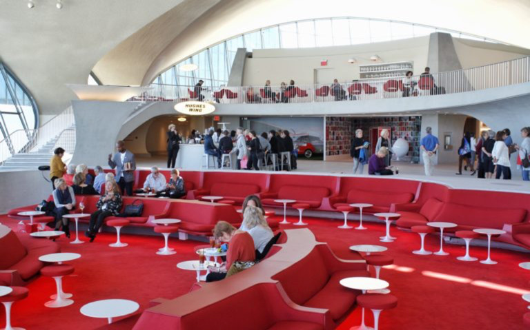 JFK'S Amazing TWA Hotel (a Complete Look Inside!) 26