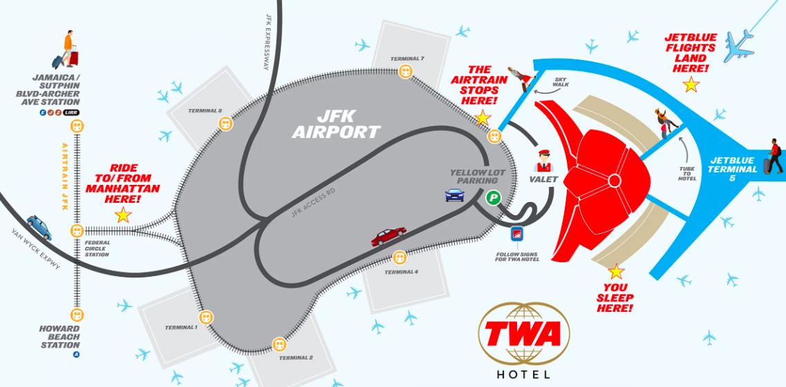 JFK'S Amazing TWA Hotel (a Complete Look Inside!) 5